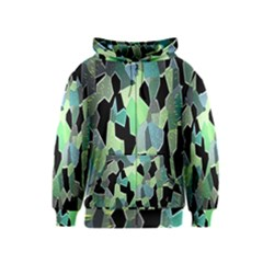 Wallpaper Background With Lighted Pattern Kids  Zipper Hoodie