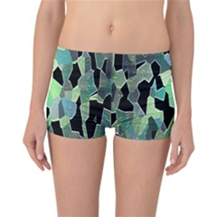 Wallpaper Background With Lighted Pattern Reversible Bikini Bottoms