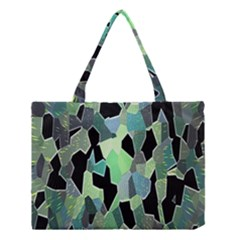 Wallpaper Background With Lighted Pattern Medium Tote Bag