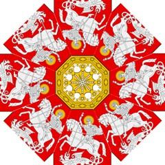 Lesser Coat of Arms of Georgia Straight Umbrellas