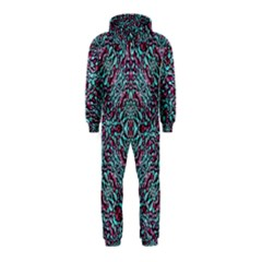 Stylized Texture Luxury Ornate Hooded Jumpsuit (Kids)