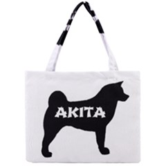 Akita Name Silo Mini Tote Bag