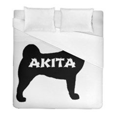 Akita Name Silo Duvet Cover (Full/ Double Size)
