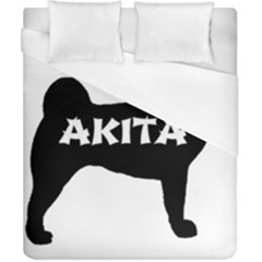 Akita Name Silo Duvet Cover (California King Size)