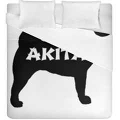 Akita Name Silo Duvet Cover Double Side (King Size)
