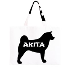 Akita Name Silo Large Tote Bag