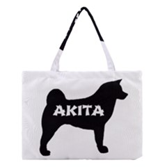 Akita Name Silo Medium Tote Bag