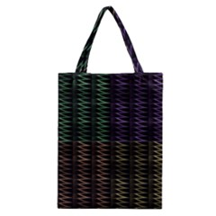 Multicolor Pattern Digital Computer Graphic Classic Tote Bag