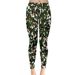 Camouflaged Seamless Pattern Abstract Leggings