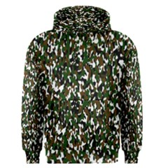 Camouflaged Seamless Pattern Abstract Men s Pullover Hoodie