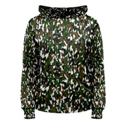 Camouflaged Seamless Pattern Abstract Women s Pullover Hoodie