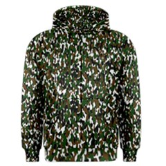 Camouflaged Seamless Pattern Abstract Men s Zipper Hoodie