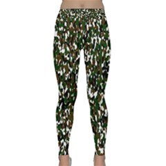 Camouflaged Seamless Pattern Abstract Classic Yoga Leggings