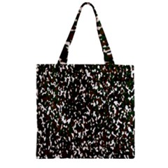 Camouflaged Seamless Pattern Abstract Zipper Grocery Tote Bag