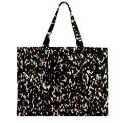 Camouflaged Seamless Pattern Abstract Zipper Mini Tote Bag