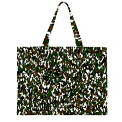 Camouflaged Seamless Pattern Abstract Large Tote Bag