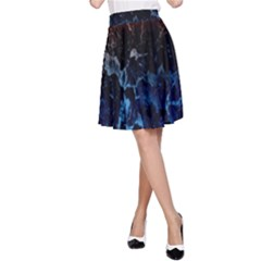 Abstract Background A Line Skirt