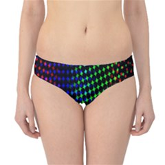 Digitally Created Halftone Dots Abstract Background Design Hipster Bikini Bottoms