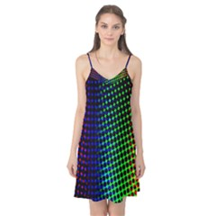 Digitally Created Halftone Dots Abstract Background Design Camis Nightgown