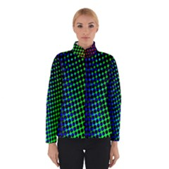 Digitally Created Halftone Dots Abstract Background Design Winterwear