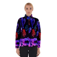 Grunge Abstract In Black Grunge Effect Layered Images Of Texture And Pattern In Pink Black Blue Red Winterwear