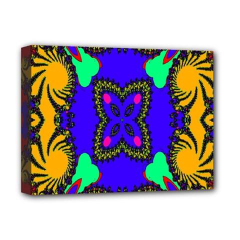 Digital Kaleidoscope Deluxe Canvas 16  x 12