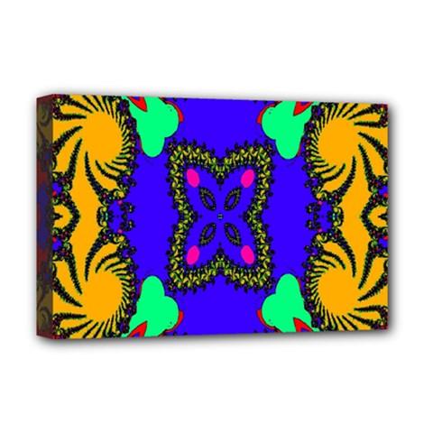 Digital Kaleidoscope Deluxe Canvas 18  x 12