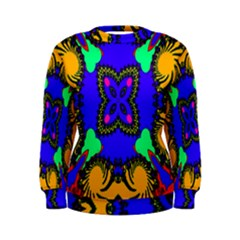 Digital Kaleidoscope Women s Sweatshirt