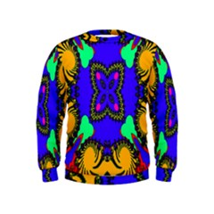 Digital Kaleidoscope Kids  Sweatshirt