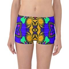 Digital Kaleidoscope Boyleg Bikini Bottoms