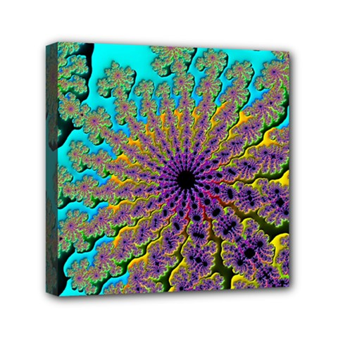 Beautiful Mandala Created With Fractal Forge Mini Canvas 6  X 6