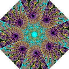Beautiful Mandala Created With Fractal Forge Golf Umbrellas