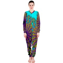 Beautiful Mandala Created With Fractal Forge OnePiece Jumpsuit (Ladies)