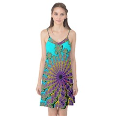 Beautiful Mandala Created With Fractal Forge Camis Nightgown