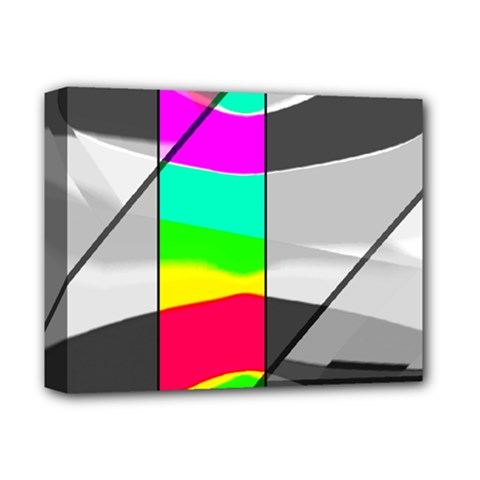 Colors Fadeout Paintwork Abstract Deluxe Canvas 14  X 11