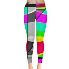 Colors Fadeout Paintwork Abstract Leggings