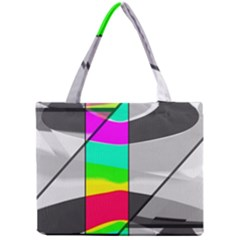 Colors Fadeout Paintwork Abstract Mini Tote Bag