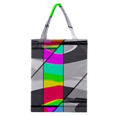 Colors Fadeout Paintwork Abstract Classic Tote Bag