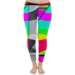 Colors Fadeout Paintwork Abstract Classic Winter Leggings