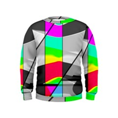 Colors Fadeout Paintwork Abstract Kids  Sweatshirt