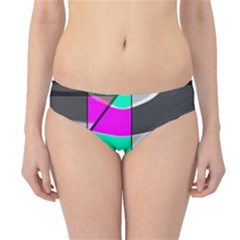 Colors Fadeout Paintwork Abstract Hipster Bikini Bottoms