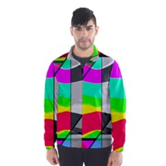 Colors Fadeout Paintwork Abstract Wind Breaker (Men)