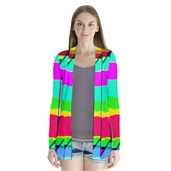 Colors Fadeout Paintwork Abstract Cardigans