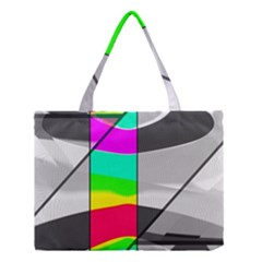 Colors Fadeout Paintwork Abstract Medium Tote Bag