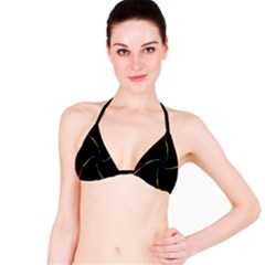 Digital Computer Graphic Bikini Top