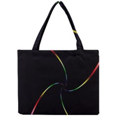 Digital Computer Graphic Mini Tote Bag