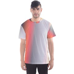 Digitally Created Abstract Colour Blur Background Men s Sport Mesh Tee