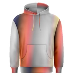 Digitally Created Abstract Colour Blur Background Men s Pullover Hoodie