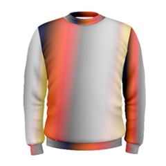 Digitally Created Abstract Colour Blur Background Men s Sweatshirt