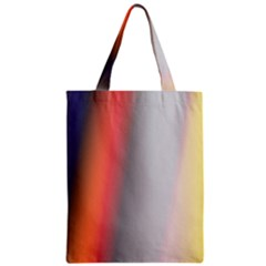Digitally Created Abstract Colour Blur Background Zipper Classic Tote Bag